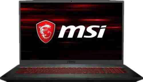 """2020 MSI GF75 17.3"""" gaming laptop display"""