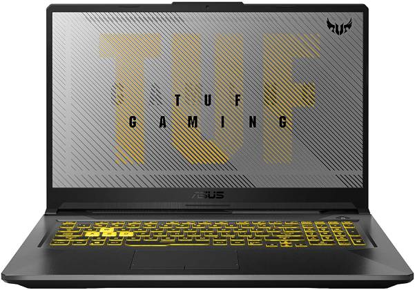 2020 ASUS TUF 17.3 screen that makes your game object won't look too small.
