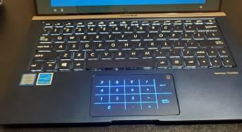 ASUS ZenBook 13 Ultra Slim Laptop NumberPad