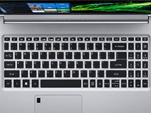 The A515-54-59W2 keyboard