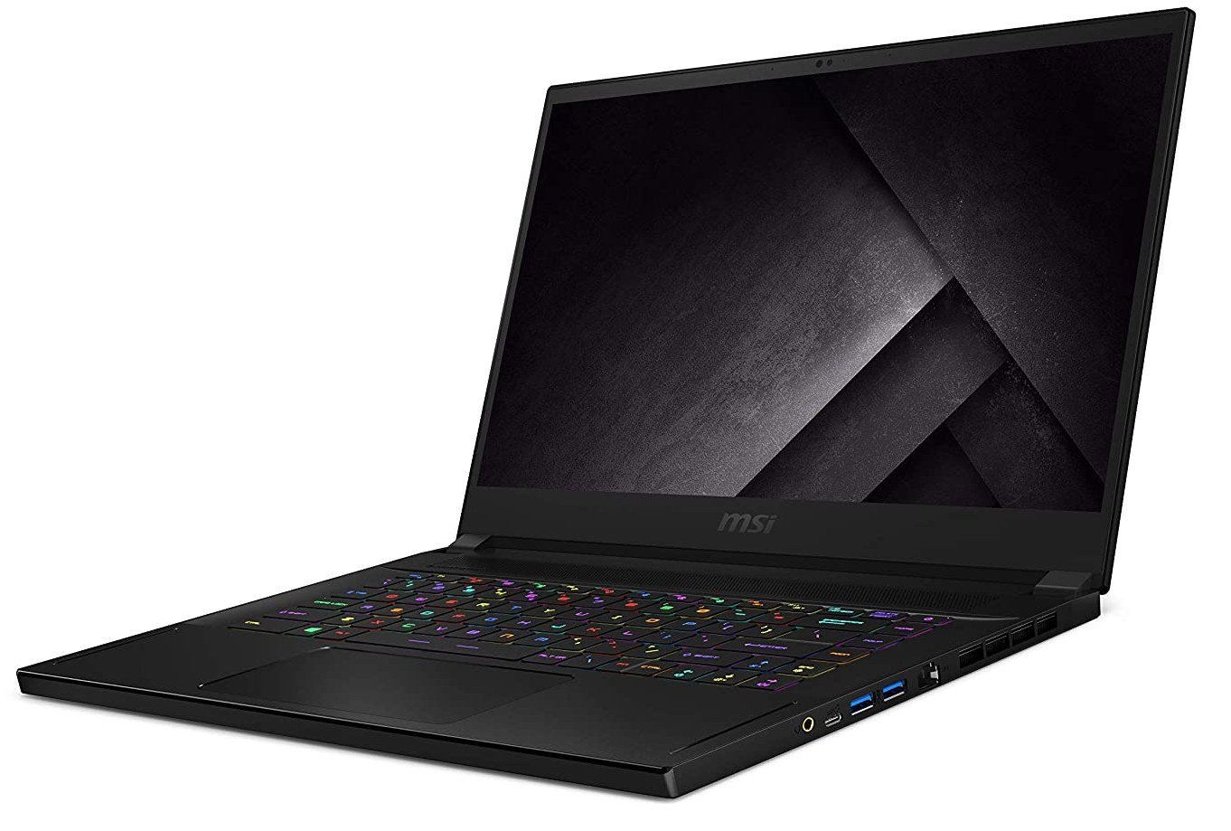MSI GS66 Stealth 10SGS-031 with RTX 2080 S has many useful ports