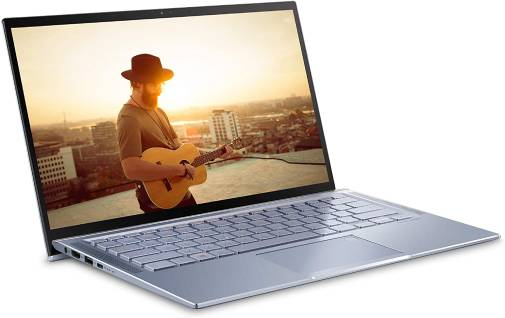 ASUS ZenBook 14 UX431FA-EH55 and its aluminum unibody