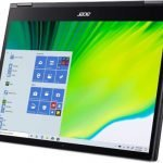 Acer Spin 5 Convertible Laptop on tablet mode