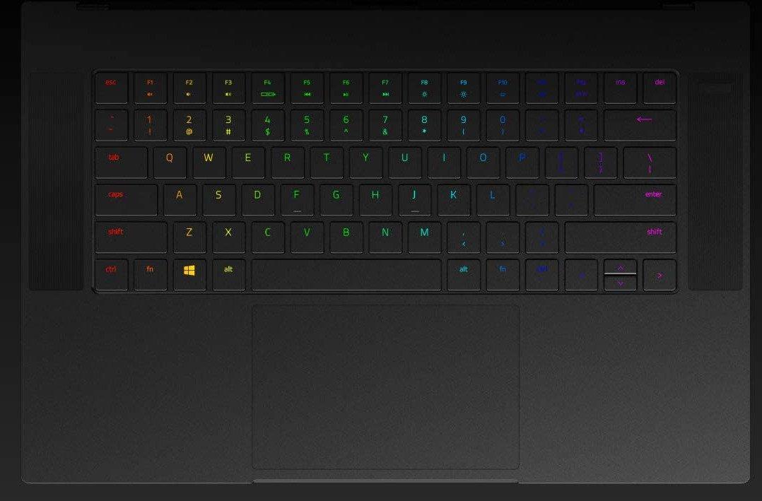 The per-key RGB Keyboard on the RZ09-03304E42-R3U1
