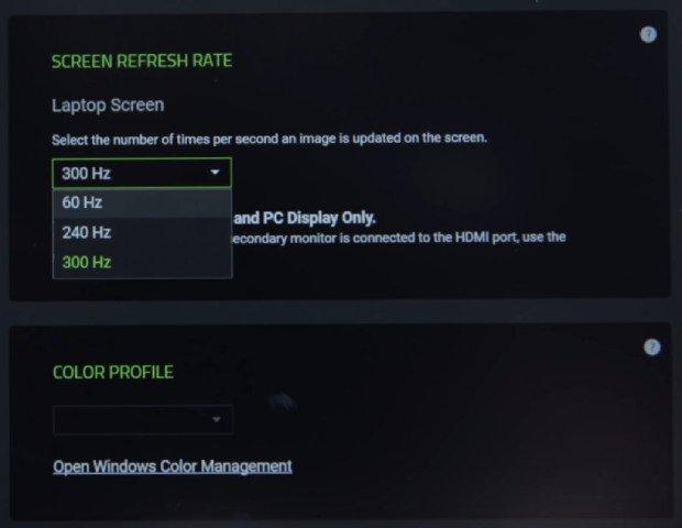 The 2020 Razer Blade 15 Advanced gaming laptop 300Hz-screen refresh rate option
