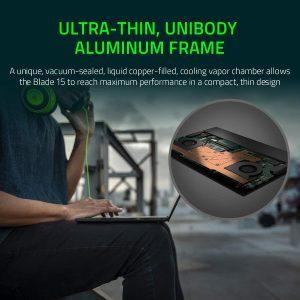 Razer Blade 15 Advanced Gaming Laptop 2020 vapor chamber