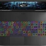 The 2021 MSI GF75 Thin 10UEK features Per-Key RGB Steel Series Keyboard