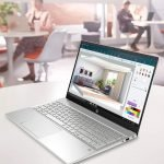 The sleek HP 15-eg0021nr